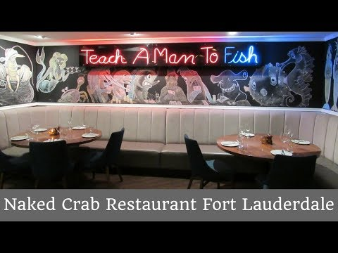 Naked Crab Restaurant Fort Lauderdale #TravelTips #Foodies