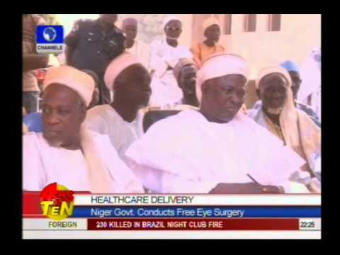 Healthcare Delivery:Niger Govt. conducts free eye surgery