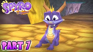 "Spyro the Dragon - Part 7 ""Blowhard"" (Spyro PS1)"