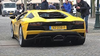 Lamborghini Aventador S (740HP) - Start Up, Revs & Accelerations!
