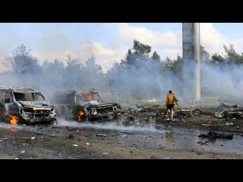 Disguised car bomb kills dozens in Syria