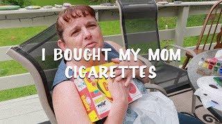 BIRTHDAY MONTH VLOG: I BOUGHT MY MOM CIGARETTES