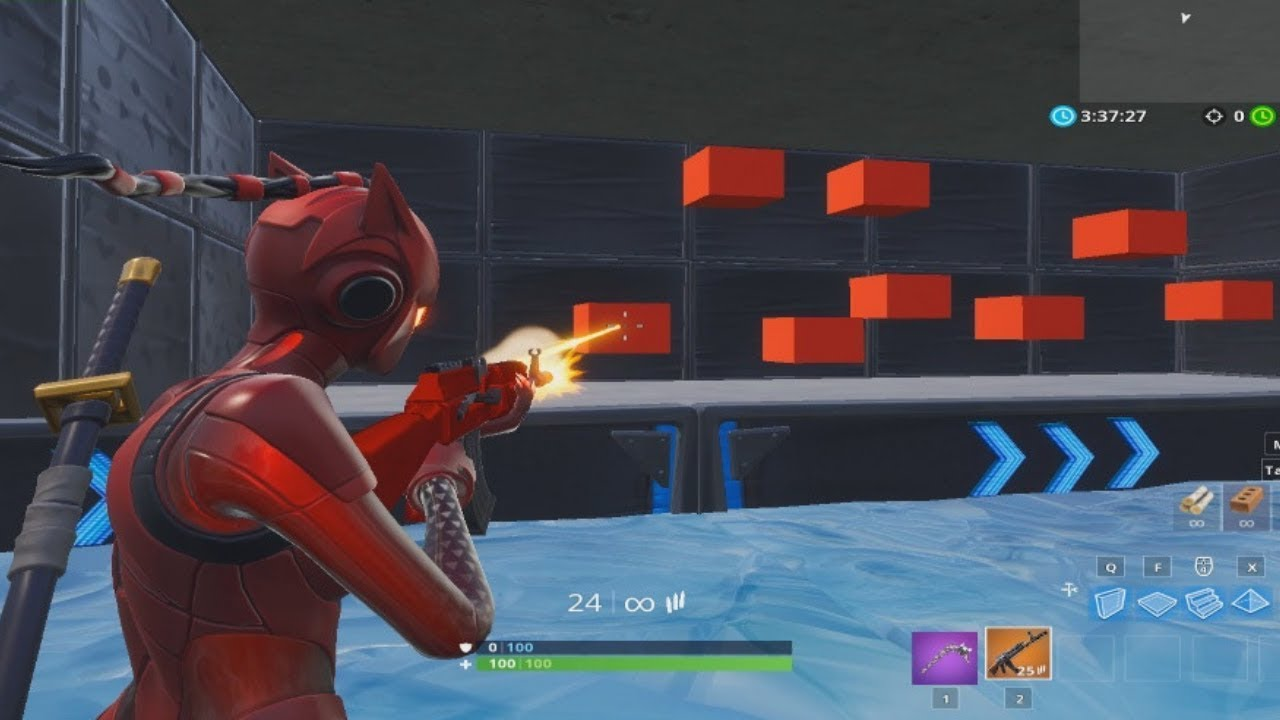 The Ultimate Aim Trainer In Fortnite - Free Practice For Console & PC  (Fortnite Creative)
