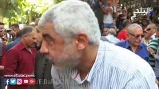 بالفيديو والصور.. كبار الرياضيين يؤدون صلاة الجنازة على طارق سليم بـ «مصطفى محمود»