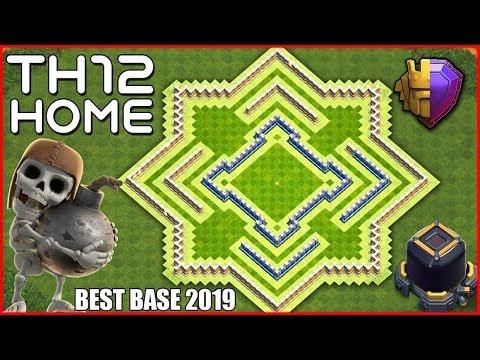 Unbeatable Best Th12 Farming Base 2019 10