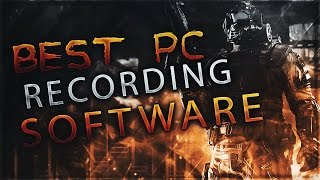 Best FREE PC Game Recording Software 2017!!! 1080p/60fps (MARCH 2018!)