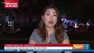 Download Video 2 teen girls killed, teen driver charged after crash in NE Harris County MP3 3GP MP4