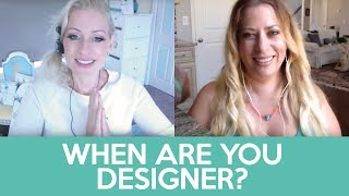 When do you become designer? - Interview with Erin James - how to become a craft seller