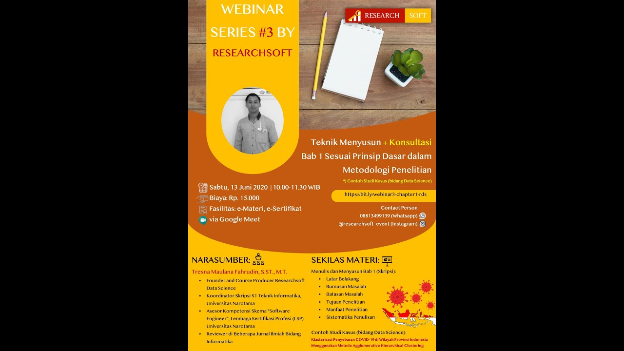 Akademik Webinar 3 Teknik Menyusun Konsultasi Bab 1 Sesuai