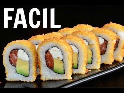 Como hacer sushi facil kariniwiii youtube - Cocinar sushi facil ...