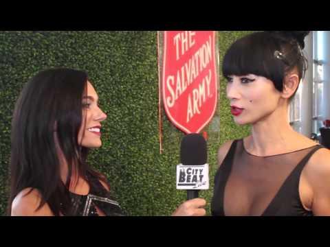 Ashley Mary Nunes Interviews Bai Ling at the Salvation Army Awards Gala
