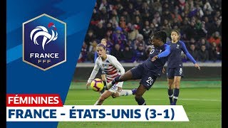 Download France - États-Unis (3-1), Féminines : le résumé I FFF 2019 Mp3 and Videos