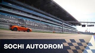Sochi Autodrom: Испытание трассы Formula 1