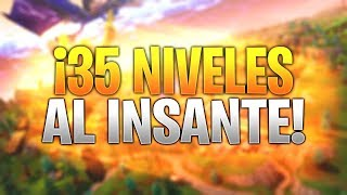 HOW TO CLIMB 35 LEVELS TO THE INSTANT IN FORTNITE BATTLE ROYALE!! | BUG CHALLENGES!!