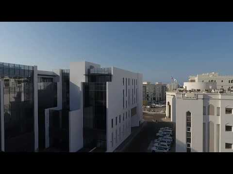 HEBERGER. Neubau eines Office-Buildings im Oman.