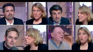 4 libéraux sur un plateau... face à l'insoumise D.Simonnet et l'économiste atterré F. Farah !