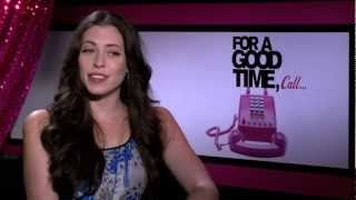 For A Good Time Call... - Trailer & Exclusive Interview with stars, Lauren Miller & Ari Gaynor Thumbnail