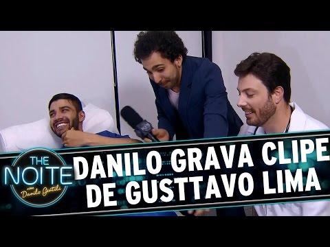 The Noite (19/10/15) - Murilo Couto Acompanha Gravação Do Clipe De Gusttavo Lima, Com Danilo Gentili
