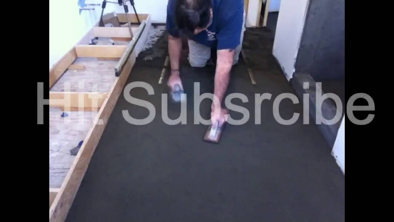 How to float a floor with deckmud to make it flatlevel and how to float a floor with deckmud to make it flatlevel and easyfast to tile dailygadgetfo Gallery