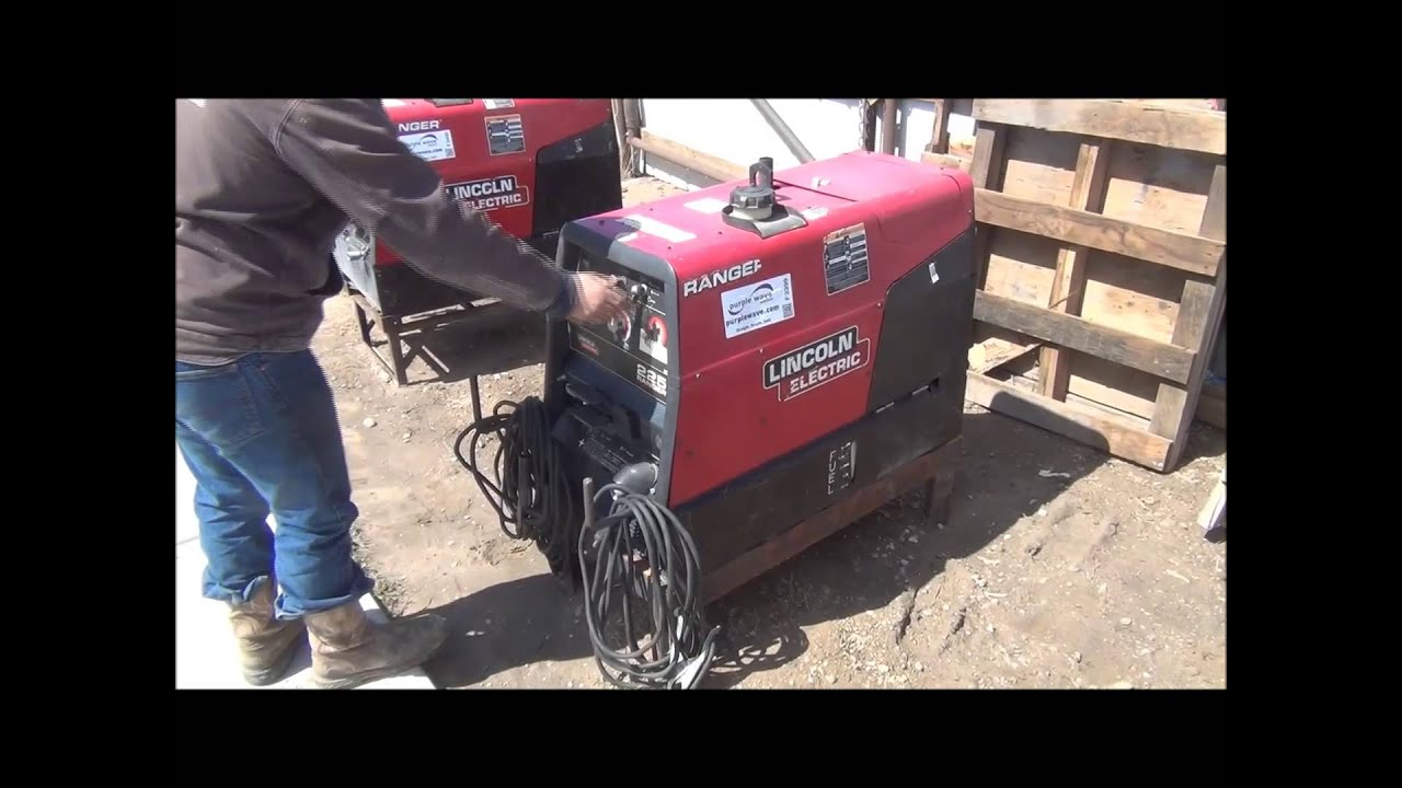 lincoln ranger 225 welder  generator for sale