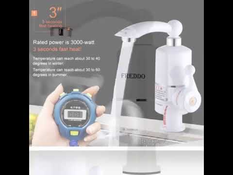Robinet electric Freddo ERT-SN 0025(instant apa calda), 3000W, ecran LCD