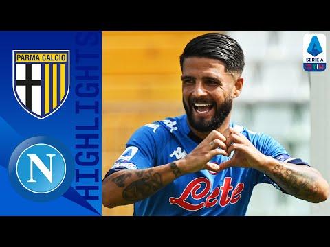 Parma 0-2 Napoli | Osimhen entra e dà la scossa, in gol Mertens e Insigne | Serie A TIM