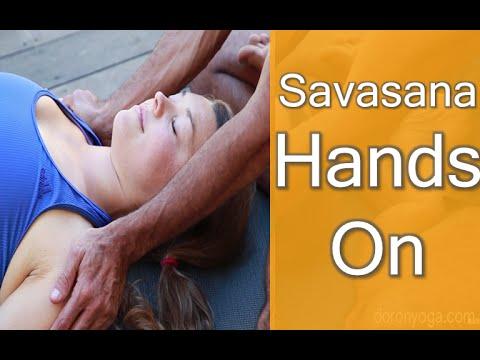 Savasana Hands On - Sharing the Love!