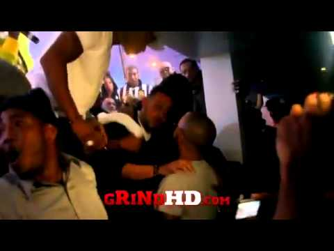 P Diddy Fight @ ATL Compound