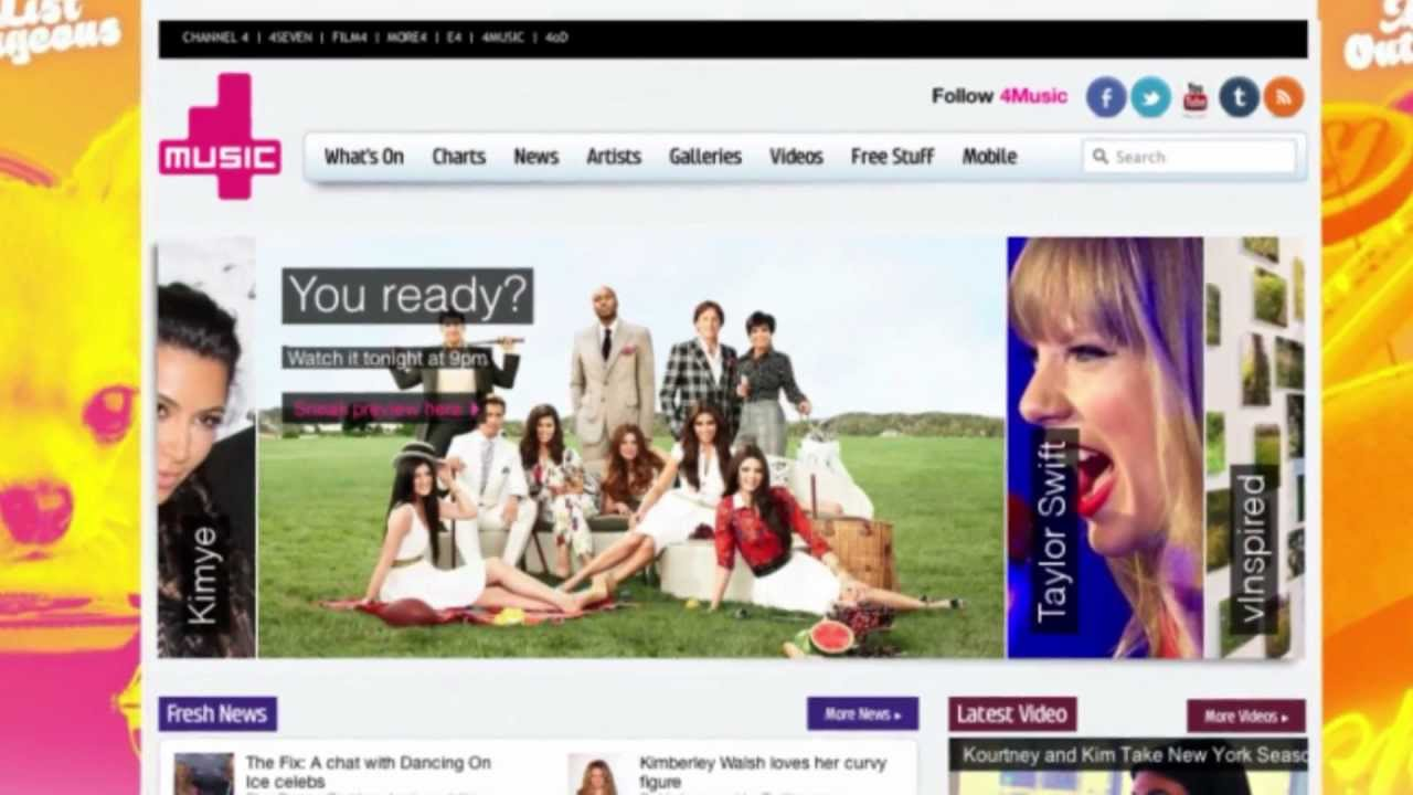 4music.com launch