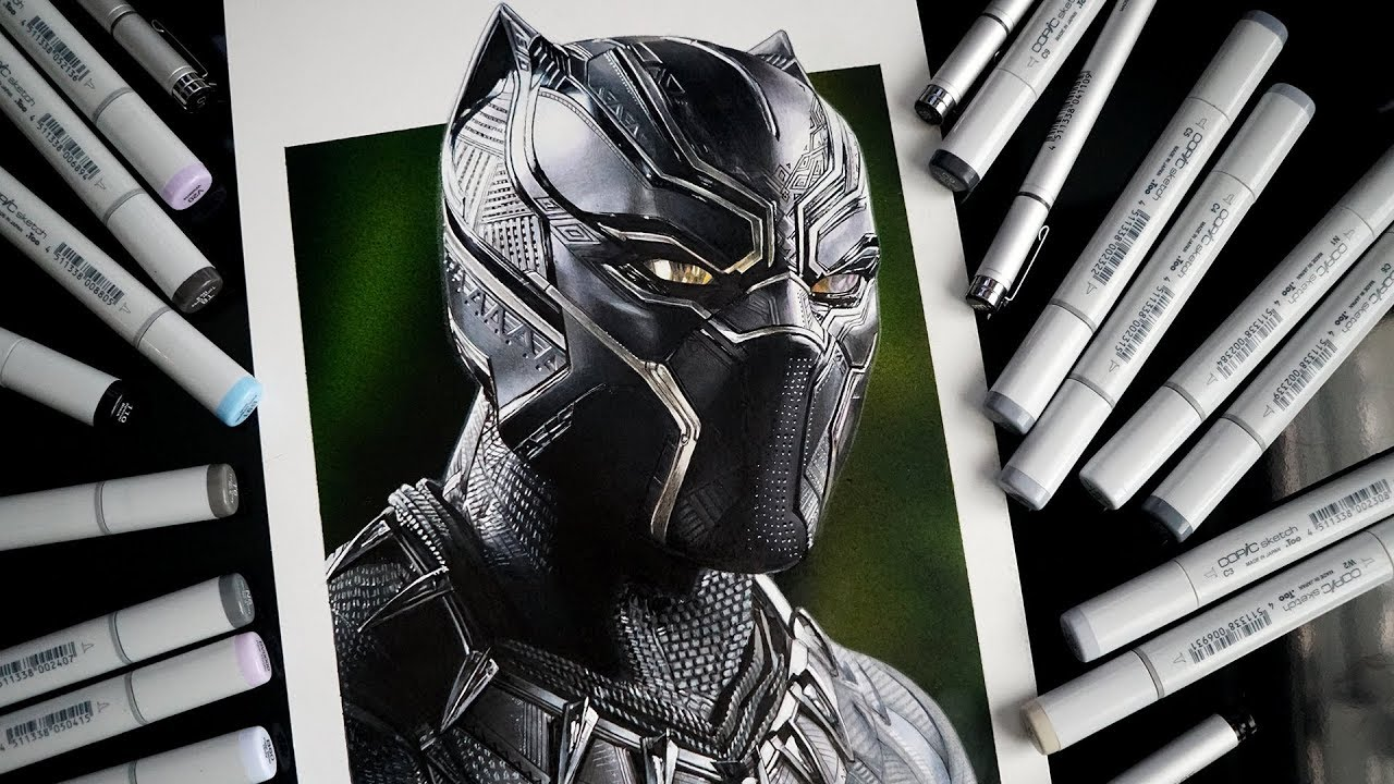 Black Panther Drawing