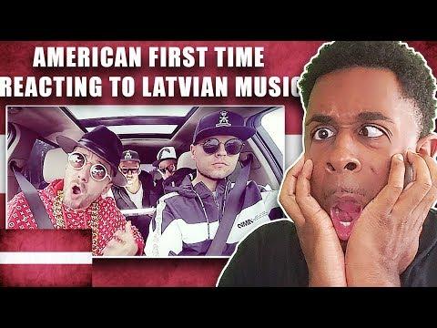 AMERICAN REACTS TO LATVIAN MUSIC FOR THE FIRST TIME | BERMUDU DIVSTŪRIS - RIŅĶI