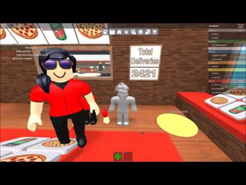 How to hack Work at a Pizza Place-Roblox!!!!
