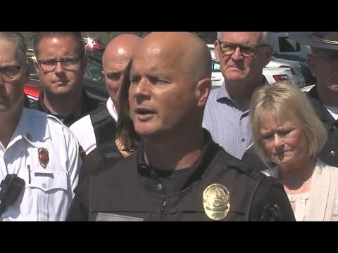 Police give update after shooting at Indiana school