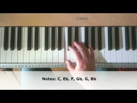 Jazz Piano Improvisation Exercise - C Minor