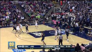 Highlights - Notre Dame 73 UConn 72 - Notre Dame Womens Basketball