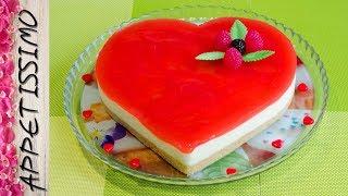 видео Смородиновый муссовый торт-сердце - торт на день влюбленных, пошаговый рецепт с фото