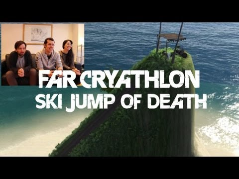 Far Cryathlon - Far Cry 3 Challenge Ski Jump Finale - Let's Play