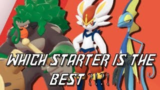 WHICH STARTER IS THE BEST in POKEMON SWORD and SHIELD