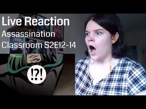 Assassination Classroom 2nd Season Episode 12-14 Live Reaction