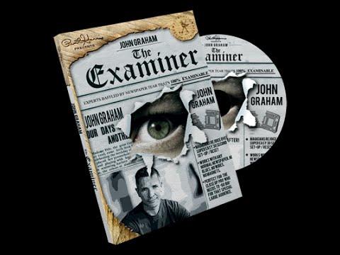 Paul Harris Presents Examiner (Gimmicks & DVD) by John Graham at AlbericoMagic.com