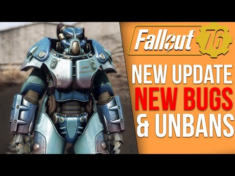 Fallout 76 News - New Update New Bugs, Big Unban Wave, New Secret Locations and Skins thumbnail