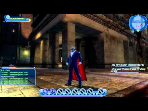 Corporate Commander Plays DC Universe Online