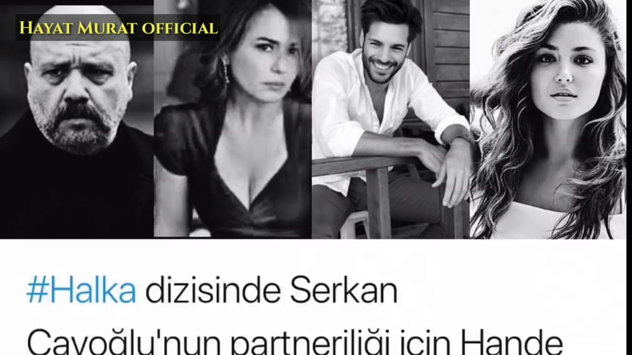 Hande Ercel Come Back With New TV Series Halka (Pyar Lafzon