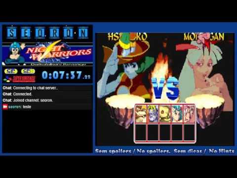 Seoron - Jogo Night Warriors: Darkstalkers' Revenge - Arcade - YouTube