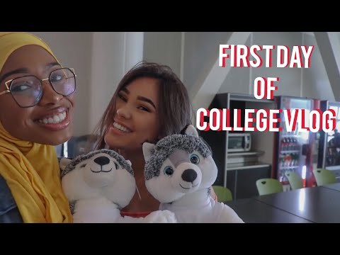 First Day of College VLOG |UCONN 2018|