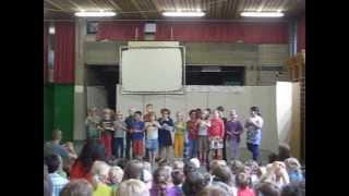 Trappenhuis school klas Tom 20130621 laatste forum schooljaar 2012-2013 (copyright MS)