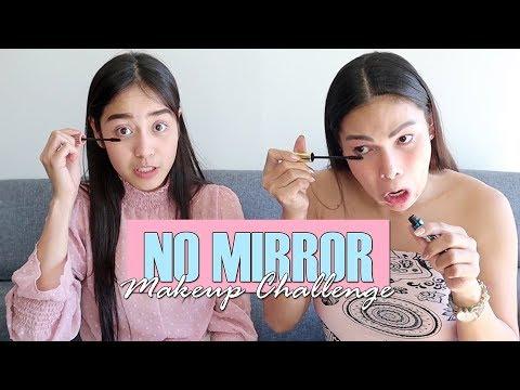 Meet The Beauty Expert (EP. 8) No Mirror Makeup Challenge ft. Reese
