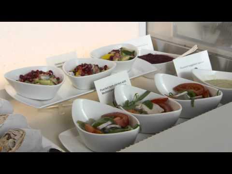 Petra Kvitova Visits Emirates Lounge at Dubai International Airport