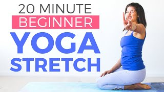 20 minute Yoga for Complete Beginners | Easy Stretching