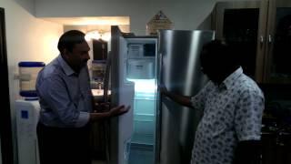 LG refrigerator demo by Doctor